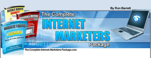 Product picture The Complete Internet Marketers Package with MRR